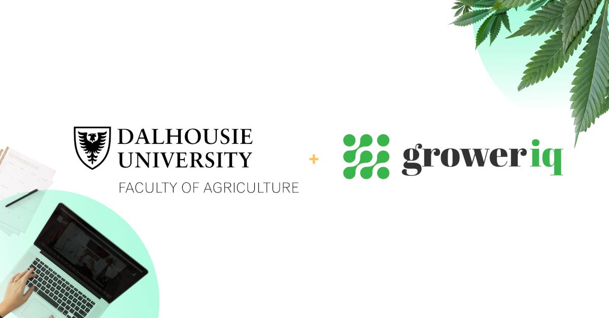 GrowerIQ Announces Collaboration with Dalhousie University