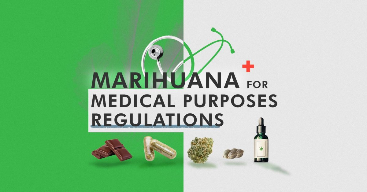 Marihuana for Medical Purposes Regulations